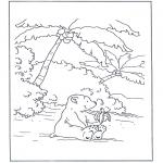 Przedszkolaki - Lars się posila