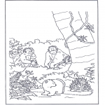 Przedszkolaki - Lars w puszczy