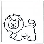 Zwierzęta - Lew 1