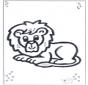 Leżący lew