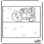 Maisterkowanie - Maisterkowani kartka Dora 2