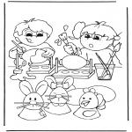 Tematy - Malowanie jajek wielkanocnych