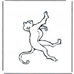 Zwierzęta - Małpa 1