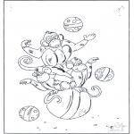 Zwierzęta - Małpki na piłkach
