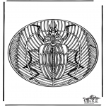 Mandala's - Mandala ' Insekt 2