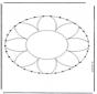 Mandala do haftowania 1