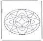 Mandala do haftowania 7