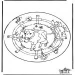 Mandala's - Mandala - Krowa