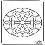 Mandala's - Mandala - Motyl