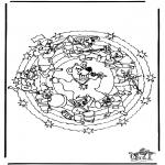 Mandala's - Mandala Niedźwiedź