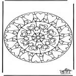 Mandala's - Mandala sercowa