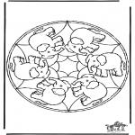 Mandala's - Mandala-Słoń