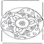 Różne - Mandala z Grzybem 2