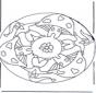 Mandala z Grzybem 2