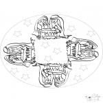 Mandala's - Mandala z Gwiazdkowym Dzieckiem