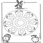 Mandala's - Mandala ze Stopami