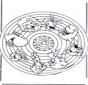 Mandala zwierząt 2