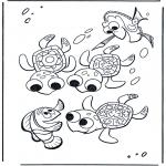 Przedszkolaki - Marlin i żółwie
