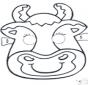 Maska krowa 2