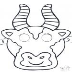 Kartki do Kłucia - Maski 1