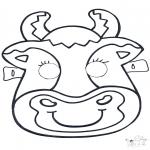 Kartki do Kłucia - Maski 6