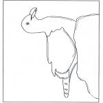 Zwierzęta - Mewa na skale