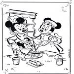 Bohaterowie Z Bajek - Mickey i Minnie