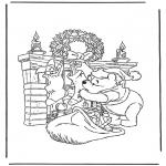 Boze Narodzenie - Miś Puchatek i Boże Narodzenie