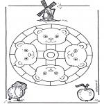 Mandala's - Misiowa Mandala