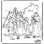 Kolorowanki Biblijne - Mojżesz 1