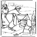 Kolorowanki Biblijne - Mojżesz 2