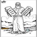 Kolorowanki Biblijne - Mojżesz 4
