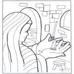 Kolorowanki Biblijne - Moneta Wdowy