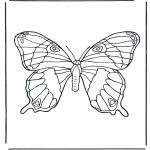 Zwierzęta - Motyl 1