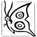 Zwierzęta - Motyl 2