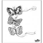 Zwierzęta - Motyl 3