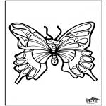 Zwierzęta - Motyl 4