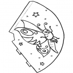 Maisterkowanie - Motylek kapelusz 1