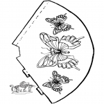 Maisterkowanie - Motylek kapelusz 2