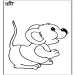 Zwierzęta - Mysz 2