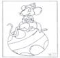 Myszka na piłce