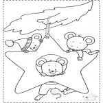 Zwierzęta - Myszki w Gwieździe