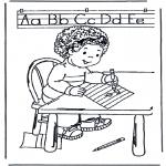 Przedszkolaki - Nauka pisania