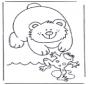 Niedźwiedź i żaba