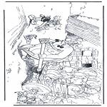 Bohaterowie Z Bajek - Obelix, Idefix i Asterix