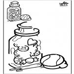 Maisterkowanie - Odrysowanie - Cukierek
