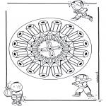 Mandala's - Ołówkowa Mandala