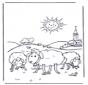 Owce w słońcu