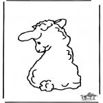 Zwierzęta - Owieczka 2