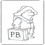 Przedszkolaki - Paddington z walizką